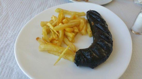 Casarabonela, Spagna: Media morcilla al horno