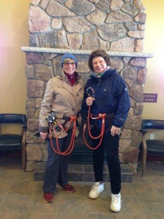 Skytop, Pensilvania: Yes, we did the fast zip line!