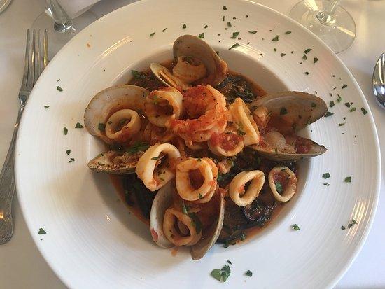 Cresskill, NJ : My seafood dinner