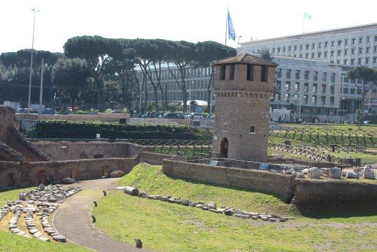 Circus maximus picture of circus maximus rome for Piscina g s roma 53 roma