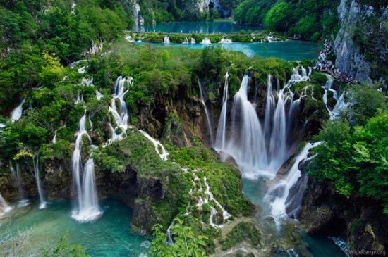 Croazia: parque nacional pltvice Coacia.