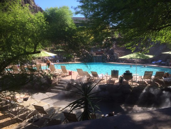 The pool picture of phoenix marriott tempe at the buttes for Tempe swimming pool