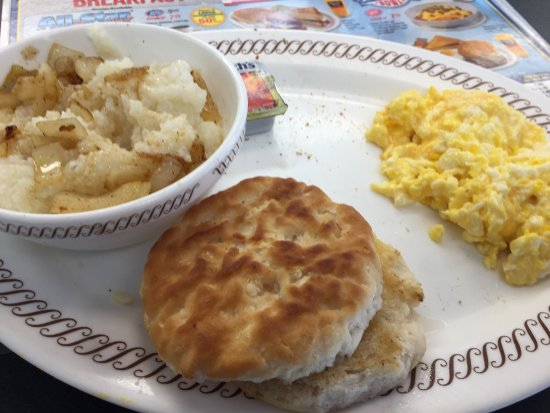 Columbus, MS: Waffle House without meat
