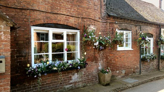 Worfield, UK: PART OF THE FLOWER DISPLAY