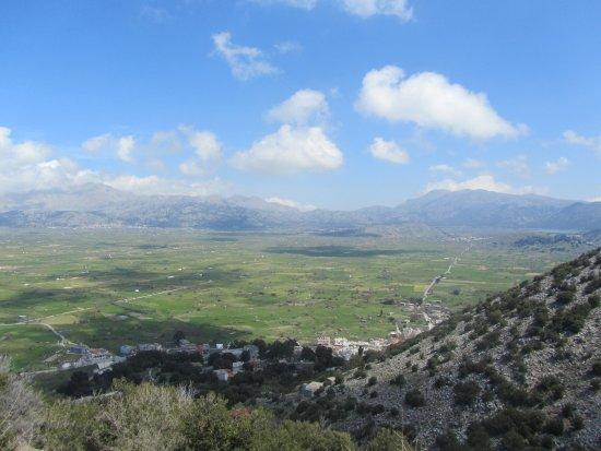 Crete, Greece: Lasithi Plateau view