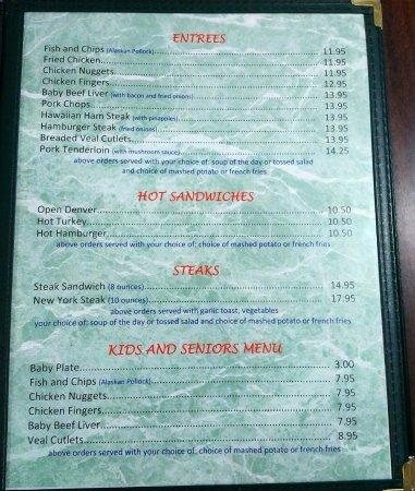 Vermilion, Canadá: menu page 2