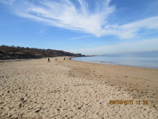 Gullane, UK: Expansive sand great for everybody had i mentioned the sky