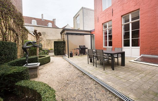 De Drie Koningen: Apartment St-Donaas (max 4 pers - 2 bedrooms) - terrace