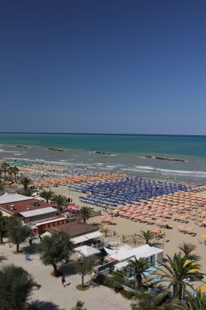 Panorama dalla terrazza - Picture of Residence Elisa, San Benedetto ...