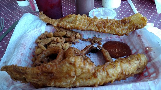 North Port, FL: this is there fish and chips