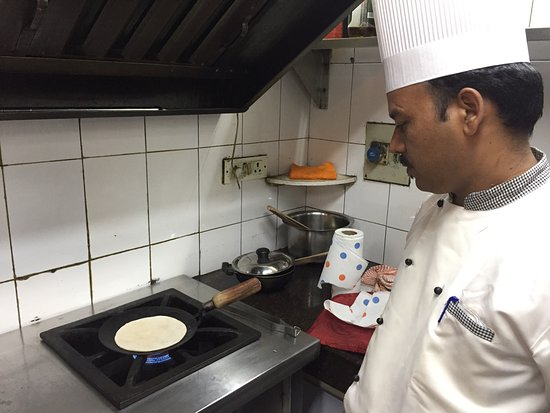 We Took An Indian Cooking Class At The Hotel Hosted By Chef Narendra