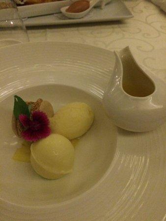 Aubergine: Dessert