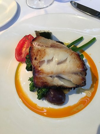 Teahouse in Stanley Park: sable fish