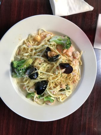 Ruskin, FL: Seafood Pasta!!
