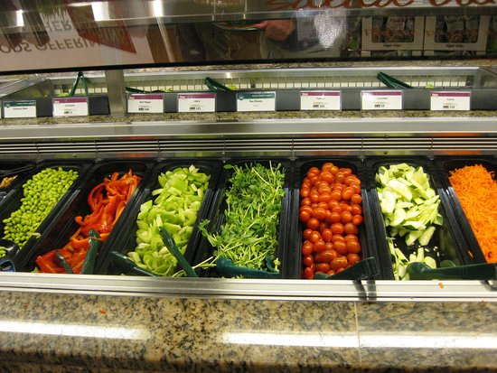 Salad bar picture of whole foods market vancouver for Organic food bar
