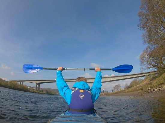 Blairgowrie, UK: Going under Friaryon Bridge