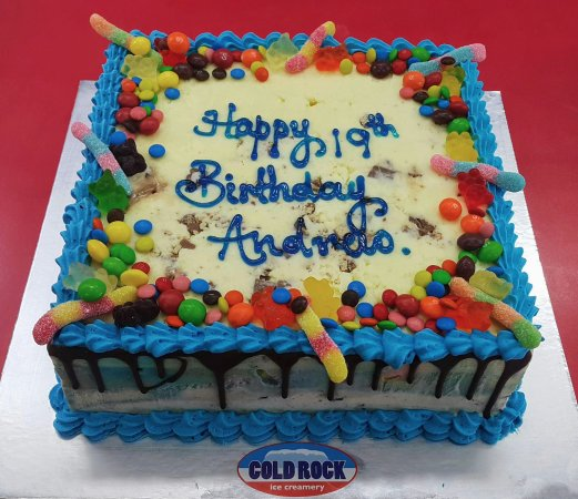 Peachy The Best Birthday Cake Is A Cold Rock Ice Cream Cake Picture Of Funny Birthday Cards Online Ioscodamsfinfo