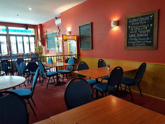 Timaru, New Zealand: Cosy restaurant