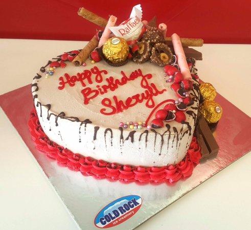 Cold Rock Ice Creamery The Best Birthday Cake Is A Cream