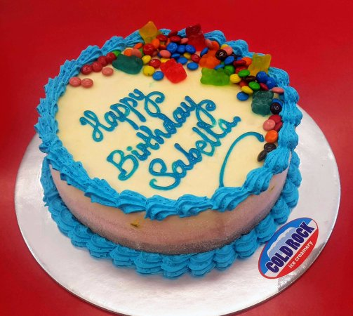 cold rock ice creamery the best birthday cake is a cold rock ice cream cake