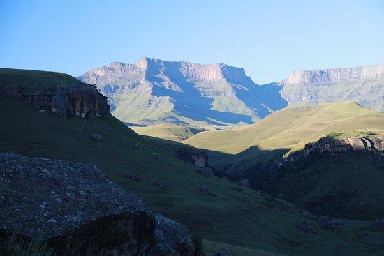 uKhahlamba-Drakensberg Park, Afrika Selatan: Mountain views