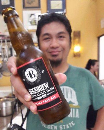 Negros Museum Cafe: tastes like hoegarden :D