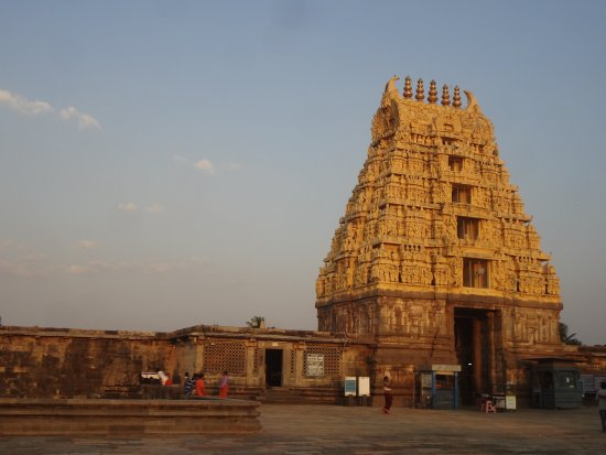 Chennakesava Temple: Main Gate to the temple