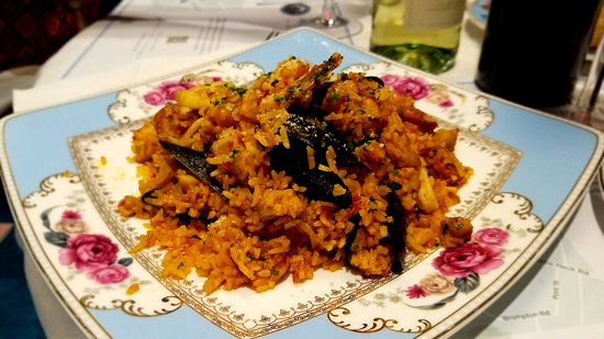 Great Neck, Estado de Nueva York: royal style seafood paella