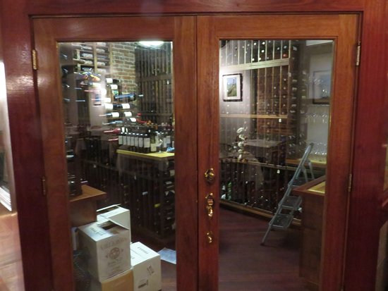 Owl Cafe Temperature controlled wine storage room & Temperature controlled wine storage room - Picture of Owl Cafe ...