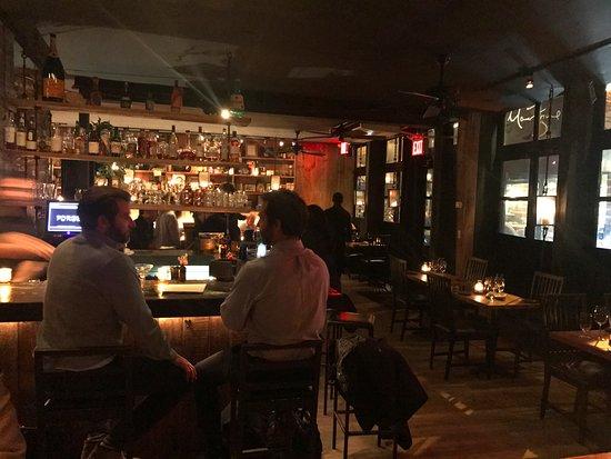 Marc Forgione: Bar Area