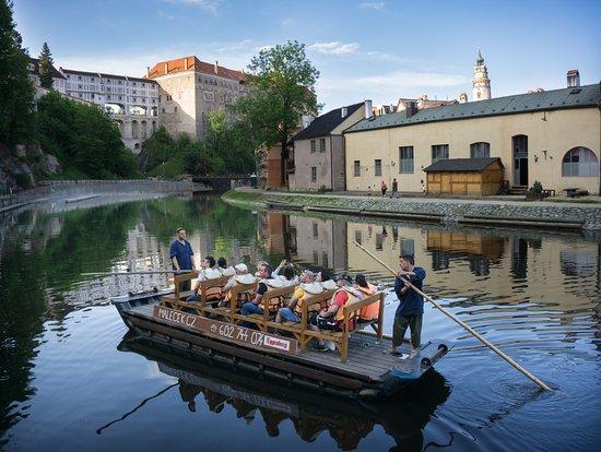 Wooden rafting Malecek