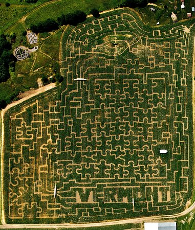 Danville, VT: 2012 Maze design - the Living Puzzle
