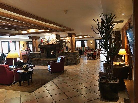 Reuben Heflin: The Rueben Heflin Restaurant in the lobby of the Hampton Inn, Kayenta, AZ