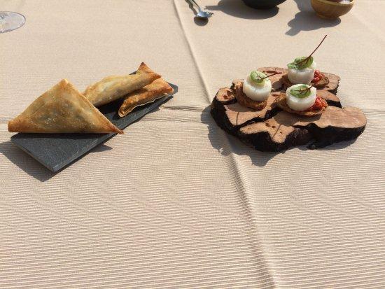 Beernem, Belgien: lekkere aperitiefhapjes