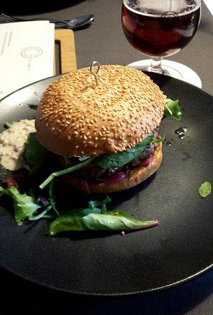 Dangast, Germany: Brioche -Burger, köstlich