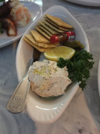 Smoked fish dip picture of mignonette uptown north for Smoked fish dip