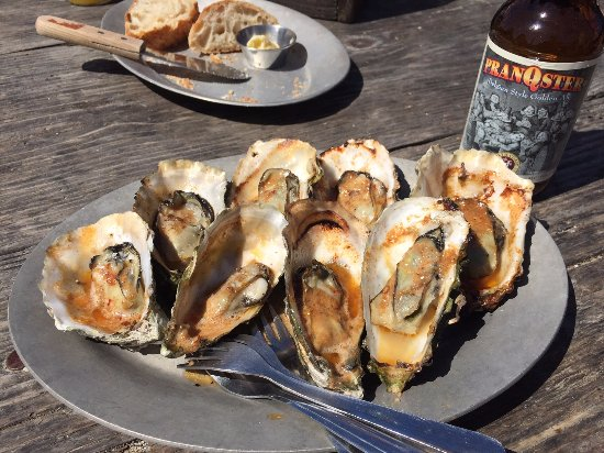 Marshall, CA: Chipotle Oysters