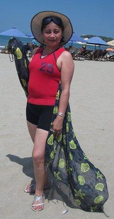 Playa Las Salinas: Salinas un bello valneario del Ecuador mi bello pais me encanta por su mar limpio