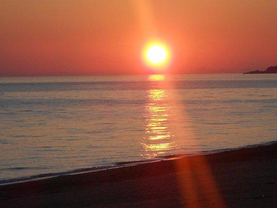 Vrachos, Yunani: sunset