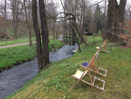 Radeberg, Alemania: Im Schloss und auf dem Wanderweg am Schloss