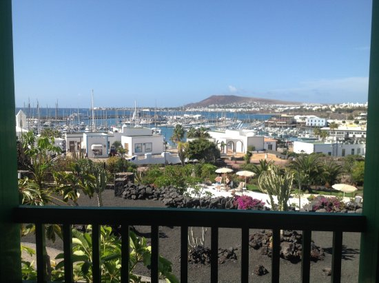 Hotel THe Volcan Lanzarote: View from room