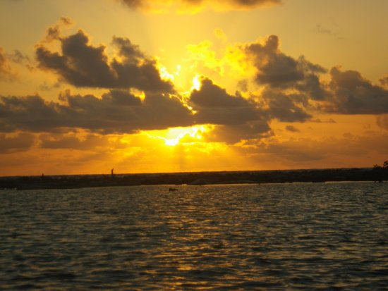 Glovers Reef Atoll, Belize: Sunset