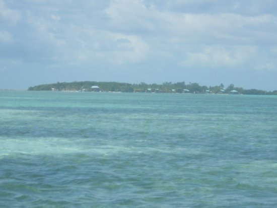 Glovers Reef Atoll, Belize: The island