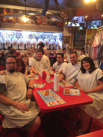 Photo of American Restaurant Heart Attack Grill at 450 Fremont St, Ste 130, Las Vegas, NV 89101, United States