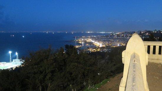 Alger, Argelia: view from the Basilique de Notre Dame d'Afrique