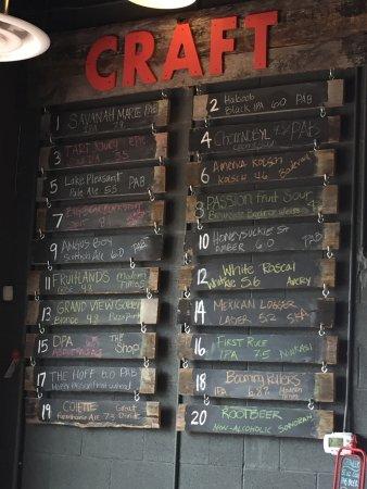 Litchfield Park, AZ: The beer list