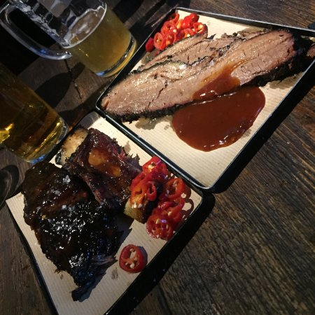 Photo of BBQ Joint Smokestak at 35 Sclater Street, London E1 6LB, United Kingdom