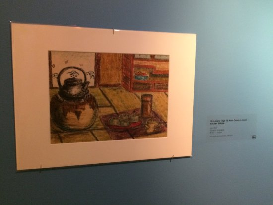 Dubuque Museum of Art: Special exhibits - Smithsonian Traveling Exhibit and Japanese children's art work.