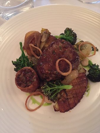 Hassocks, UK: Braised sirloin of beef 'special'