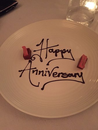 Hassocks, UK: Delivered with our bill - such a lovely end to a wonderful meal!